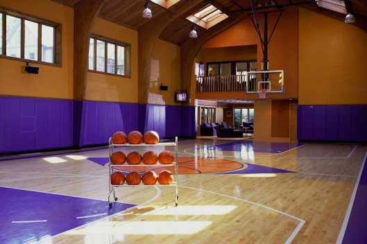 Home-Basketball-Court-With-Natural-Lighting